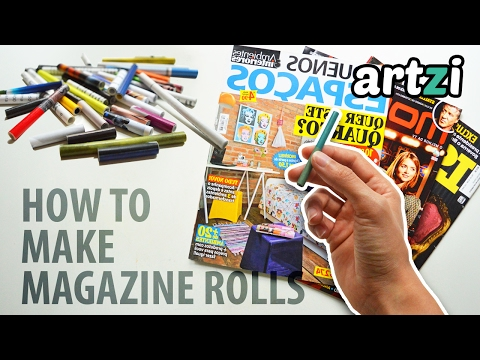 How to Make Magazine Rolls