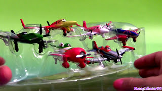 Disney Planes Racers Figurine Playset Dusty, Ripslinger, Rochelle, Chupacabra, airplanes toys review
