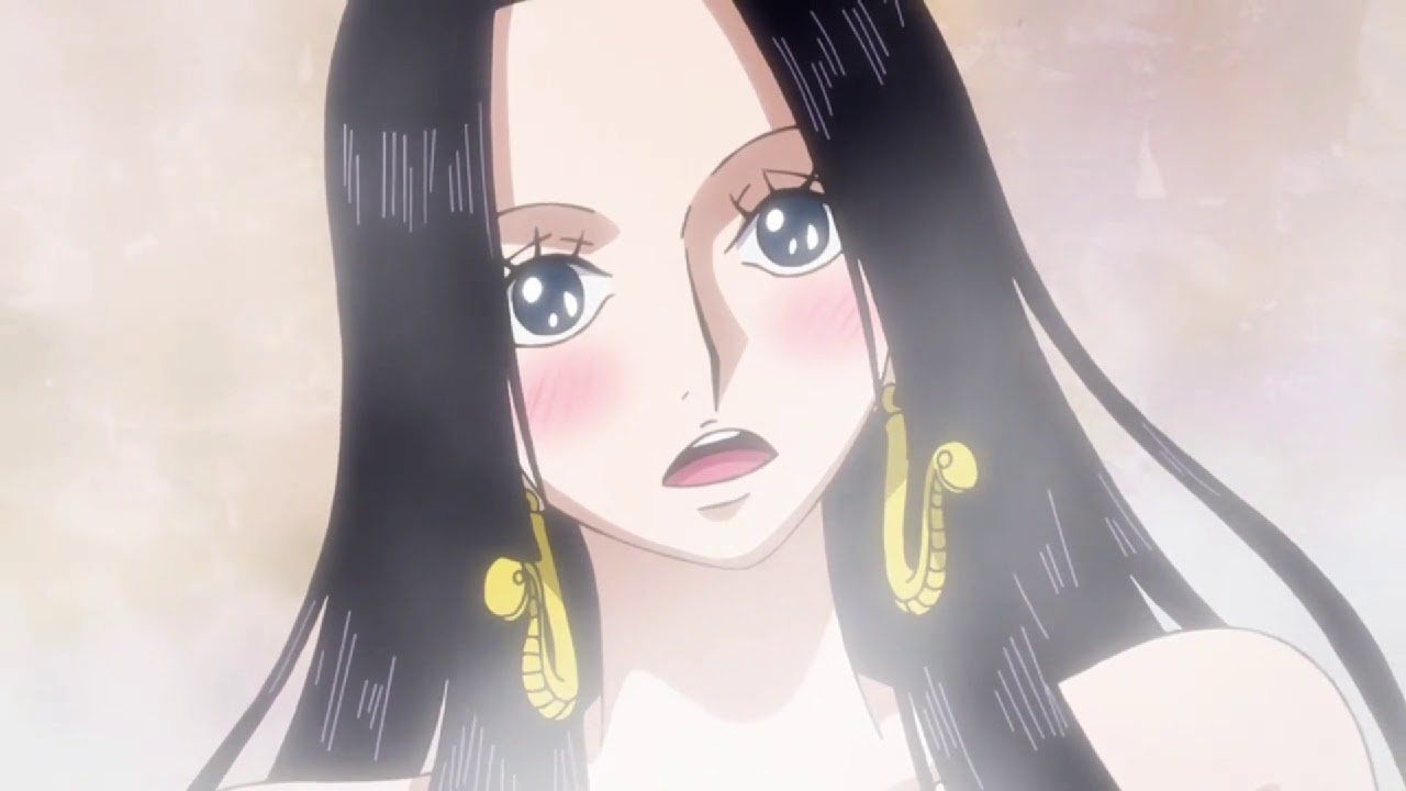 Boa Hancock meet Luffy 2019   The first time luffy meet boa Hancock   Love  song Unchained Melody - YouTube