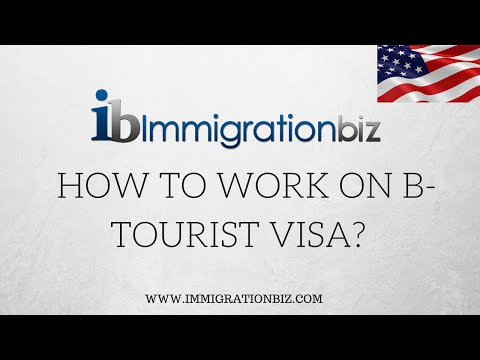 How to apply for B work visa in lieu of H1B