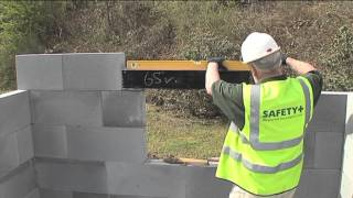 Installation of Box Lintel - H+H UK