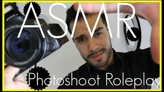 3D ASMR - Test Photoshoot Roleplay (Camera Shutter Sounds, Gentle Male Voice, & Personal Attention)