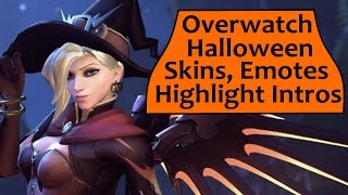 Overwatch Halloween Event - New Skins, Emotes and Highlight Intros