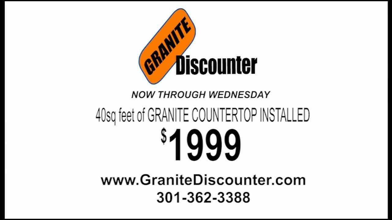 Granite Countertops Rockville, MD | Kitchen Countertops Rockville, MD |  Granite Discounter