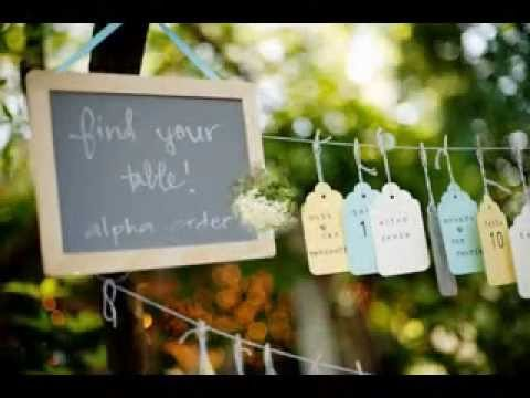 Easy Diy outdoor wedding decorations projects ideas - YouTube