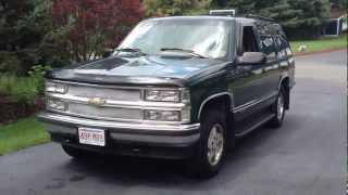 1995 Chevy Tahoe LT 4x4 V8 5.7L K1500 SUV Truck