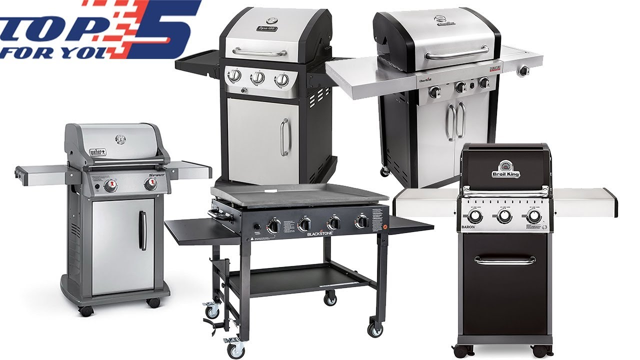 top 5 best gas grills under 500 to buy in 2018 youtube. Black Bedroom Furniture Sets. Home Design Ideas
