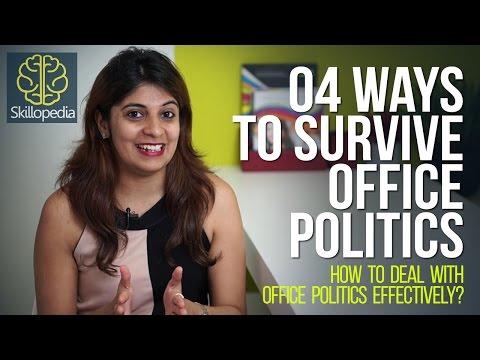 Skillopedia - 04 effective ways to survive office politics - (Soft Skills & Personality Development)