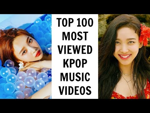 [TOP 100] MOST VIEWED KPOP MUSIC VIDEOS | August 2018