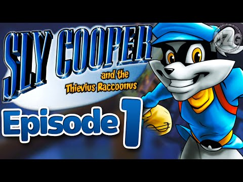 Master Thief! - Sly Cooper and the Thievius Raccoonus Playthrough - Episode 1