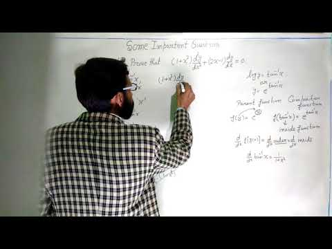 12 CLASS SOME IMPORTANT QUESTION OF DERIVATIVE