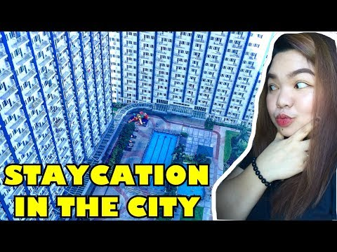 STAYCATION IN THE CITY??? TARA MAG-LIGHT RESIDENCES TAYO!!!