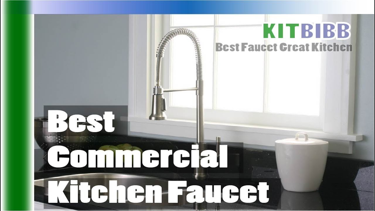 How To Choose Best Commercial Kitchen Faucet (Buying Guide)