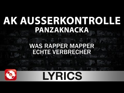 AK AUSSERKONTROLLE - PANZAKNACKA AGGROTV LYRICS KARAOKE (OFFICIAL VERSION)