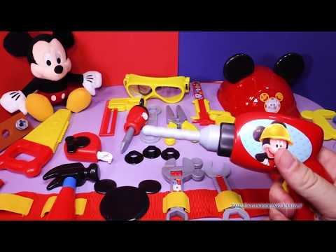 MICKEY MOUSE CLUBHOUSE Disney Junior Mickey Mouse Clubhouse  Mousekadoer Tool Kit YouTube Video