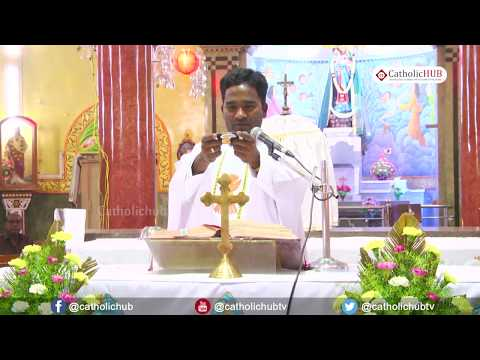 English Mass @ Shrine of Our Lady of Our Health, Khairatabad, Hyd, TS,INDIA 15 10 18
