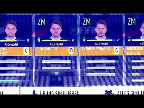 KANN TOMMY KÄßEMODEL (46 GES) DIE 99 ERREICHEN ?!! 🤔😂 FIFA 18 Mod Experiment