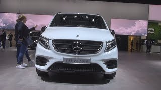 Mercedes-Benz V 250 d Night Edition Combi Van (2019) Exterior and Interior