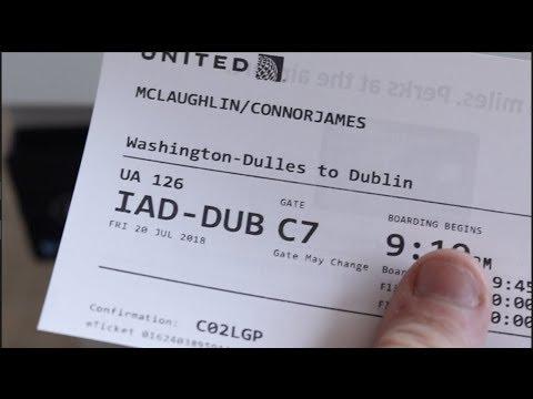 4000 miles to Dublin!!