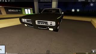 1969 Pontiac GTO Judge! (Ultimate driving) (Roblox)