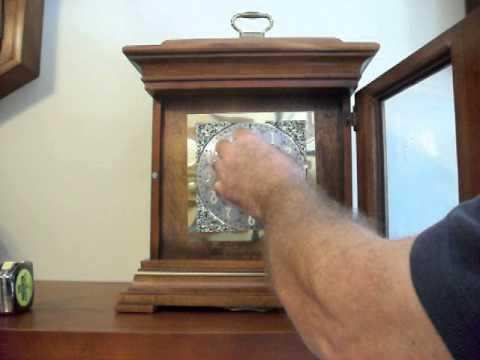 Howard Miller Thomas Tompion 3 Chime Mantel Clock