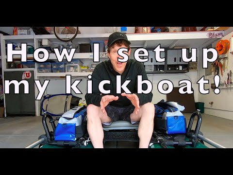 How To Set Up A Kickboat For Fishing-Outcast Fishcat Panther-Brian Kretschmar