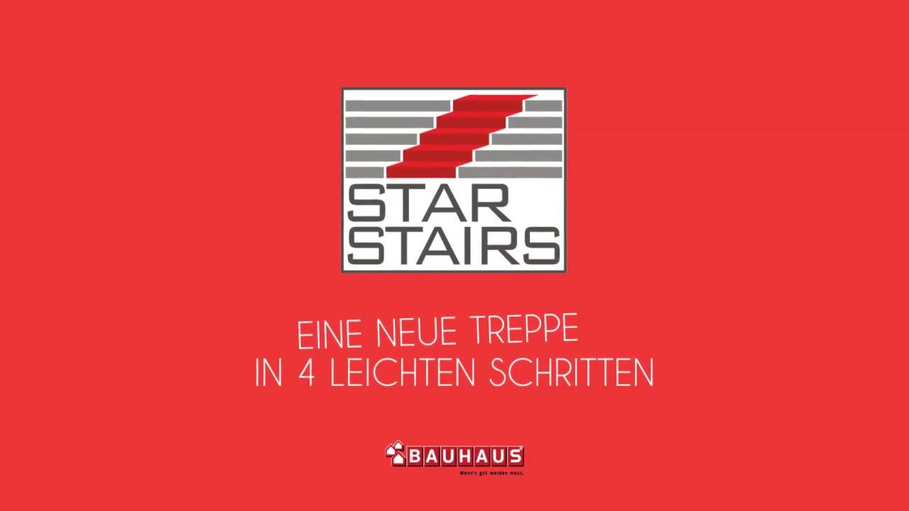 enormt lager online här Bra STAR STAIRS - eine neue Treppe in vier leichten Schritten. - YouTube