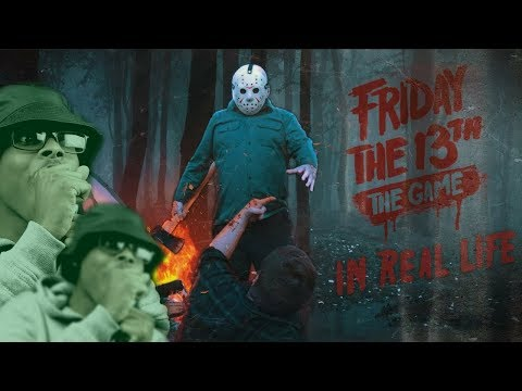 This Is TOO Accurate!   Friday The 13th Game In Real LIFE!   Reaction
