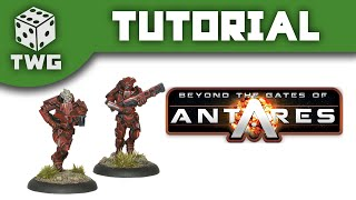 Gates of Antares Tutorial: How To Paint Algoryn