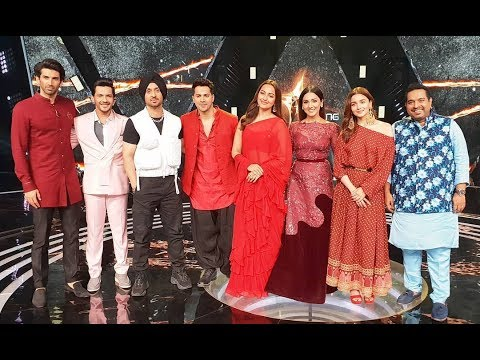 Neeti Mohan Performing #firstclass With The #kalank Team On #risingstar3