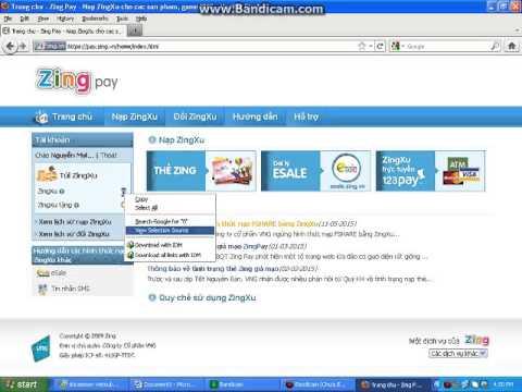 Hướng Dẫn Hack Zing Xu Không Cần Thẻ Cho Các Bạn