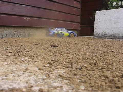 Scale Rally Subaru Impreza WRC 03 (1:16)