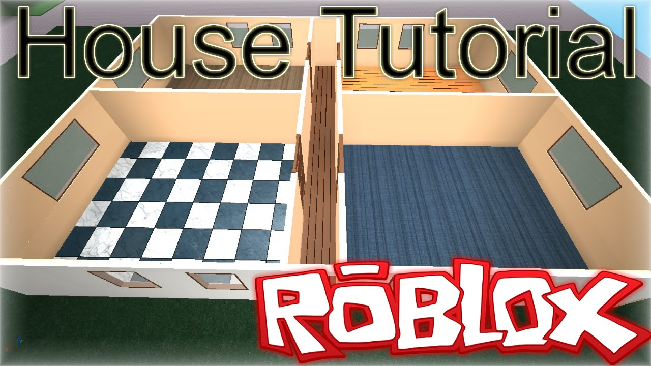 ROBLOX Building Tutorial: How To Make a Basic Realistic House (Best 27  Voice)