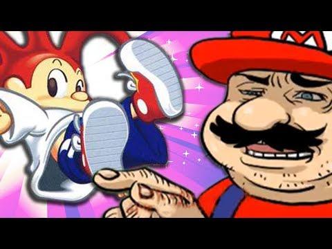 Esse é o Mario do Playstation?