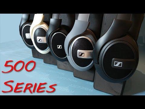 Z Review - Sennheiser HD500 Series [The ČļưƨŧēŗƑưčķ]