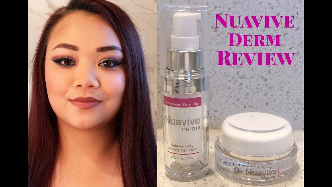 Joanna Gaine 39 S Nuavive Derm Serum Eye Cream Quick Review