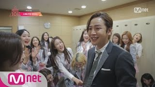 """[Produce 101] Behind-the-Scenes Clip of """"Pick ME"""" (+Chicken Party!) @M COUNTDOWN 20160122 EP.01"""