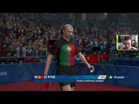 "Komboter - Beijing 2008 Game PC #6 Gameplay PL ""Ping Pong i walka o medale dla POLSKI !!"""