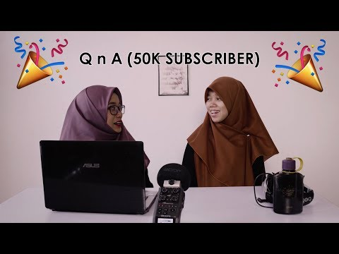 Mari ber-QnA Bersama 2 Hakak Comel (50K Subscriber)