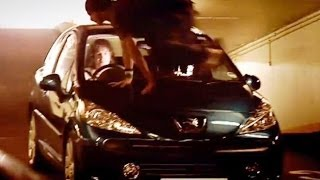 Peugeot 207 vs Parkour Free-Runners (HQ) | Top Gear