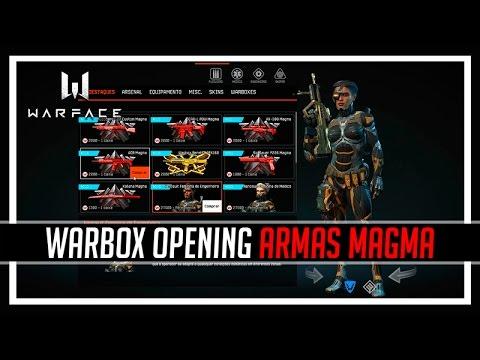 Warface Warbox Opening Armas Magma