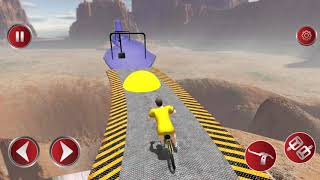 Reckless BMX Stunt Racer - Gameplay Android games - BMX freestyle game