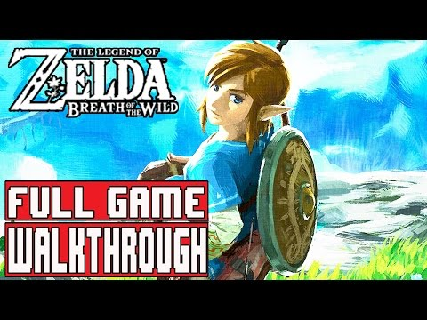 THE LEGEND OF ZELDA BREATH OF THE WILD FULL Gameplay Walkthrough Part 1 (1080p) - No Commentary