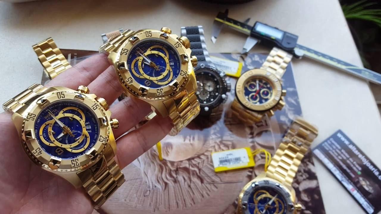 5c0537dc0f8 Relógio invicta excursion 6469 nova geração saiba o que mudou originalidade  na altarelojoaria - YouTube