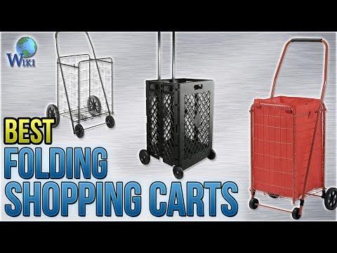 5e4476abc567 10 Best Folding Shopping Carts 2018 - YouTube