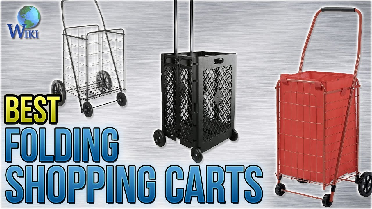 4a5407a7fb72 10 Best Folding Shopping Carts 2018