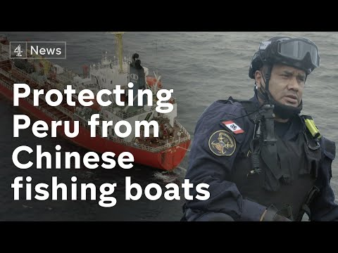 Peru defends its waters as Chinese boats are accused of illegal fishing