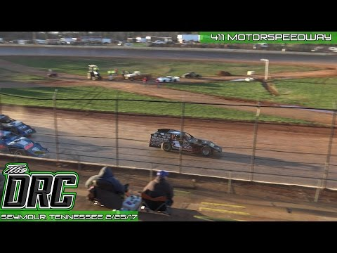 411 Motor Speedway | 2.25.17 | Frostbuster | Iron Man Modifieds | Feature