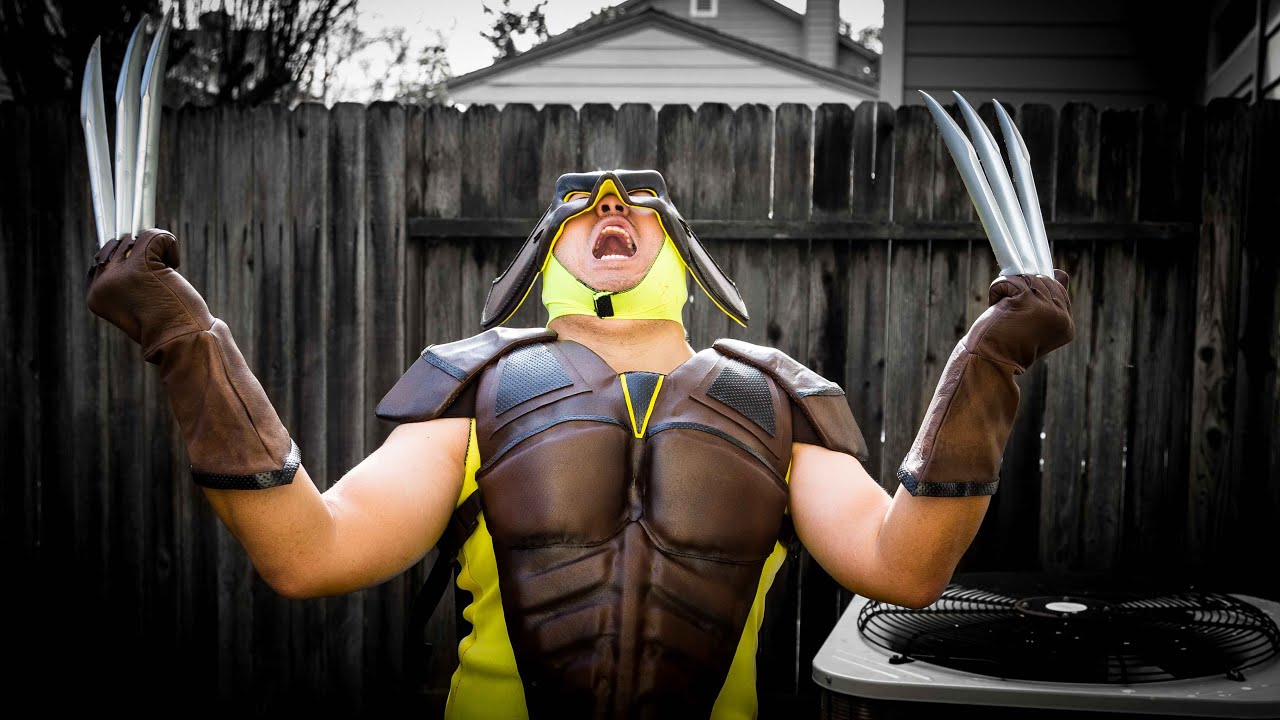 Wolverine Cosplay from...