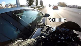 THE ACCIDENT (Greek motovlogger crash with his bike live)